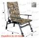 Fotel F5R - kolor kamuflaż