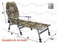 Fotel FK2 - podnóżek - kolor kamuflaż