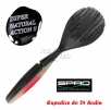 Przynęta dropshot SPRO Beaver Shad - kolor Pearl Black