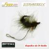 Haczyki Gamakatsu A1 Super - Strategy Fuzz Hook - kolor trawa