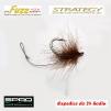 Haczyki Gamakatsu A1 Super - Strategy Fuzz Hook - kolor błoto