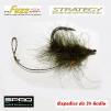 Haczyki Gamakatsu A1 Specialist - Strategy Fuzz Hook - kolor trawa