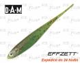 Przynęta dropshot DAM Effzett Jerky - kolor Fire Tiger