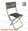 Fotel z oparciem - zielony