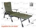 Fotel F5R - podnóżek - kolor zielony