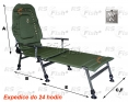 Fotel FK2 - podnóżek - kolor zielony